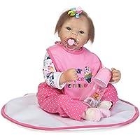 SanyDoll Rebornベビー人形ソフトSilicone 22インチ55 cm磁気Lovely Lifelike Cute Lovely Baby b0763l9cv4