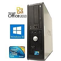 【Microsoft Office2010搭載】【Win 10搭載】DELL 780/新世代Core 2 Duo 2.93GHz/メモリ4GB/HDD250GB/DVDスーパーマルチ/中古デスクトップパソコン