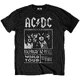 AC/DC エーシーディーシー - (復刻ツアーTシリーズ)HIGHWAY TO HELL WORLD TOUR 1979/1980 / Tシャツ / メンズ 【公式 / オフィシャル】