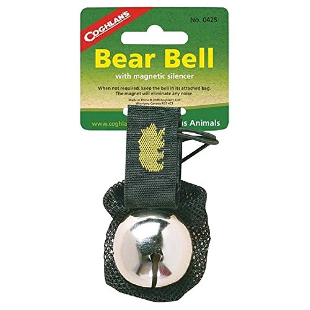 テキストゲートウェイ杭Coghlan's Ringing Bear Bell Metal w/ Magnetic Silencer CHROME by Coghlan's