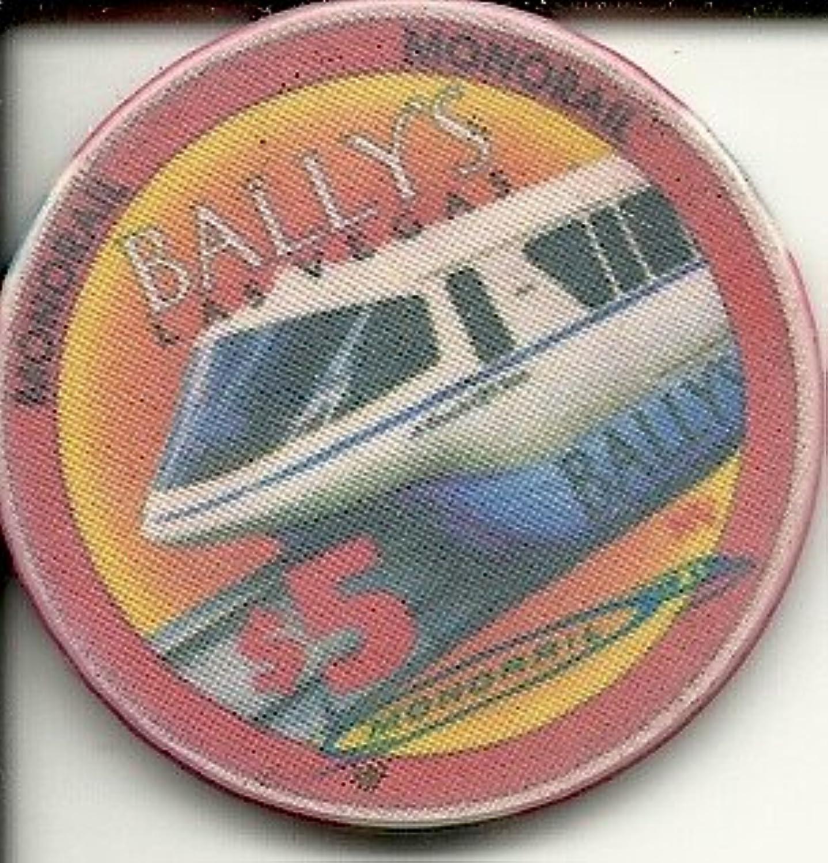 $ 5バリーズMonorail Obsoleteラスベガスカジノチップ