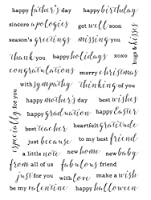 Clear Stamps Scrapbook Paper Craft Clear stamp scrapbooking X0001