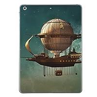 iPad Air2 スキンシール apple アップル アイパッド A1566 A1567 タブレット tablet シール ステッカー ケース 保護シール 背面 人気 単品 おしゃれ 飛行船 宇宙 013540
