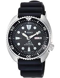 [プロスペックス]PROSPEX 腕時計 PROSPEX メカニカル DIVER SCUBA ブラック文字盤 シリコンバンド SBDY015 メンズ
