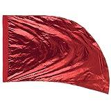 カラーガードフラッグ Arced Lava Lamé 91cm x 137cm / Red/FLLLARE