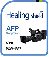 Healingshield スキンシール液晶保護フィルム Oleophobic AFP Clear Film for Sony Camera PXW-FS7 [2pcs]