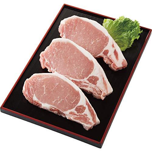 庄内SPF豚 ロースステーキ(3枚) お中元お歳暮ギフト贈答品プレゼントにも人気