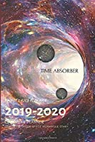 Pocket 2019-2020 Planner Calendar - 15 Months Daily Planner Outer Space Wormhole Diary: Small Mini Calendar To Fit Purse & Pocket; Slim Academic Monthly & Weekly Goals Journal Appointment Schedule Organizer With Motivational Quote; Oct 2019- Dec 2020