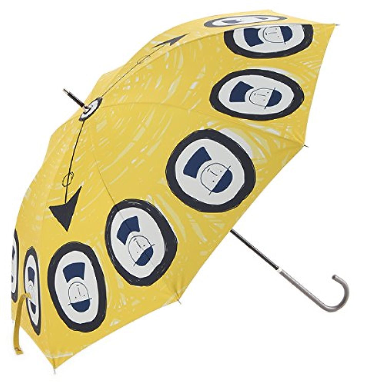 (ピッコーネ アッチェッソーリ) PICONE ACCESSORI 晴雨兼用長傘 60cm ポリエステル100% 時計 イエロー