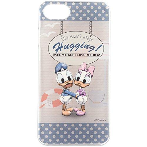 グルマンディーズ HUG-N-HAPPY iPhone7(4.7インチ)対応キャラクタージャケット ドナルド・デイジー hug-01bの詳細を見る