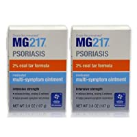 海外直送品MG 217 Psoriasis Multi-Symptom, 3.8 oz 2個セット