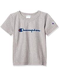 [チャンピオン]リバースウィーブ スクリプトTシャツ CS4625 ボーイズ