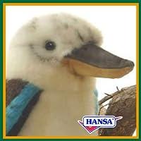 HANSA ハンサ ぬいぐるみ 3775 アオバネワライカワセミ 17 BLUE WINGED KOOKABURRA