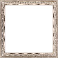 同志舎 正方形額縁 梅小紋 アクリル仕様 (15角, 銀)