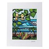Heather Brown ヘザーブラウン アートプリントクゥイポ HB9071P ハワイ 絵画 インテリア