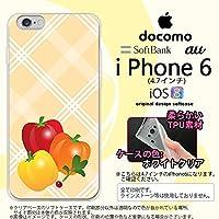 iPhone6 スマホケース カバー アイフォン 6 ソフトケース パプリカ nk-iphone6-tp668