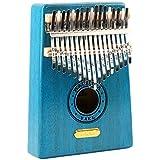 RaiFu Unisex 17 Tune Kalimbaフィンガーピアノ 初心者ポータブル楽器 ギフト玩具 17 tone 3#