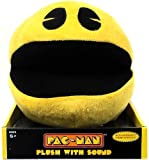 Pac-man 8-inch Plush with Authentic Sound Effects by Namco Bandai Game Inc [並行輸入品]