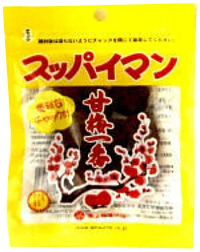 素材菓子 スッパイマン甘梅一番 15g×12袋