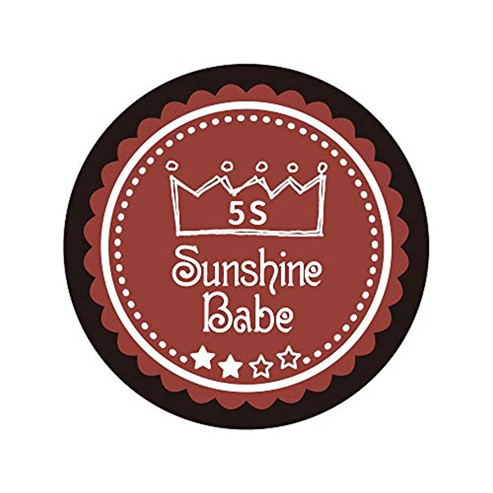 怪物許可協定Sunshine Babe カラージェル 5S チリオイル 2.7g UV/LED対応