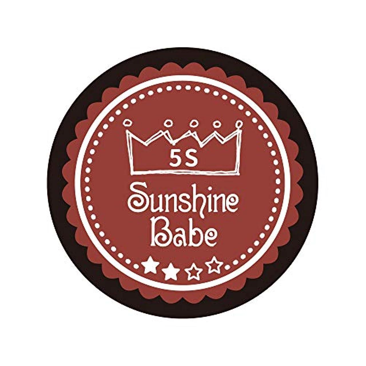耐えるウェイトレス文字通りSunshine Babe カラージェル 5S チリオイル 2.7g UV/LED対応