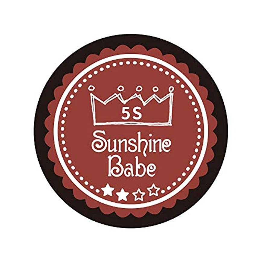 トリップ餌世界記録のギネスブックSunshine Babe カラージェル 5S チリオイル 2.7g UV/LED対応