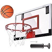 [ Waller paa ]ミニバスケットボールフープシステムインドアアウトドアホームオフィス壁Basketball Net Goal