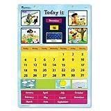 Magnetic Learning Calendar 英語教材 壁掛けカレンダー 楽しく学ぶ! マグネットえいごカレンダー 日本語ガイド付き
