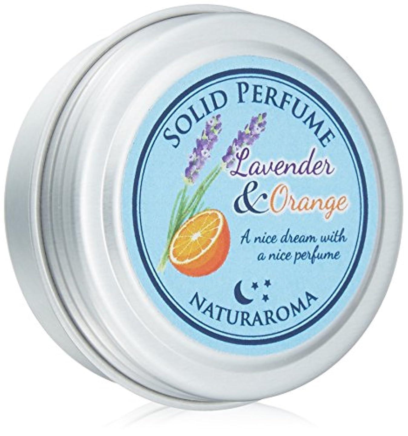順応性のある皿満了Naturaroma 練り香水 オレンジ&ラベンダー
