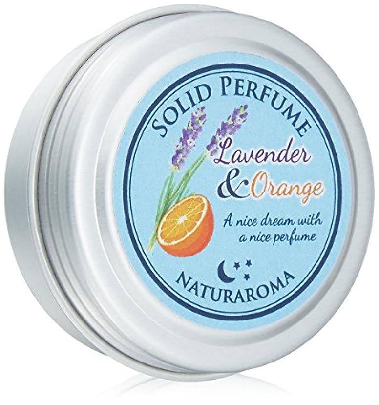 モンキー会社つかの間Naturaroma 練り香水 オレンジ&ラベンダー