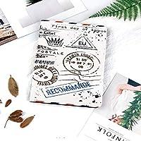 IPadケース スマートカバー アイパッドケース タブレットカバー アイパッド第四世代 第三世代 レトロな郵便切手郵便郵便パリアンティーク芸術的なデザイン職業旅行装飾的な