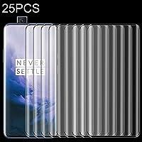 OnePlus 7 Pro用25PCS 9Hフルスクリーンカーブドエッジ強化ガラスフィルム ハイクオリティ