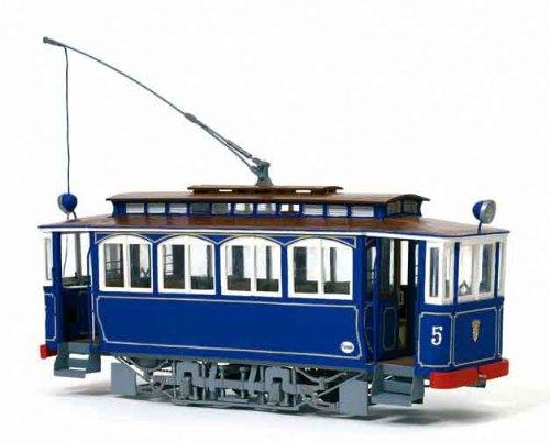 路面電車 ティビダボ(木製模型キット)和訳付き