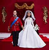 キャサリン妃ウェディングドール ・ ウィリアム王子ドール |ロイヤルウエディング ウィリアム王子とキャサリン・ミドルトン  | Royal Wedding Collector's Dolls