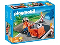 Playmobil Asphalt Cutter Construction Set [並行輸入品]