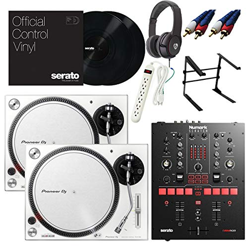 【12大特典】Pioneer DJ パイオニア/PLX-500-W/Scratch DVSスタートセット