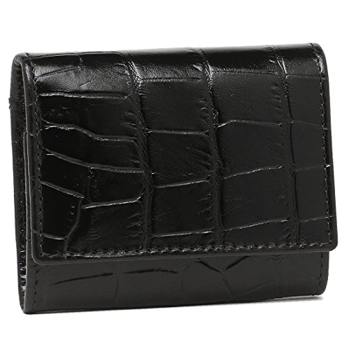 エッティンガー 財布 ETTINGER CC145JR CROCO COIN PURSER WITH CARD POCKET メンズ 小銭入れ・コインケース EBONY [並行輸入品]