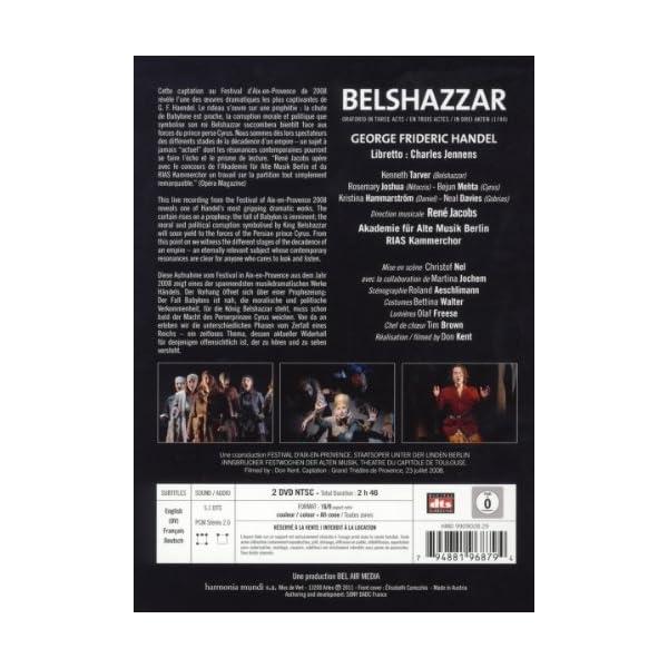 Belshazzar [DVD] [Import]の紹介画像2