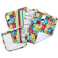 Trend Lab Dr. Seuss Alphabet Seuss Zipper Pouch and Burp Cloths Gift Set by Trend Lab [並行輸入品]