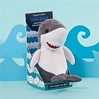 Cupcakes & Cartwheels Speak-Repeat Plush Shark [並行輸入品]
