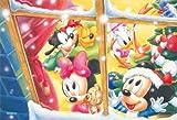 204ピース ジグソーパズル プチ ディズニー ホワイトクリスマス スモールピース(10x14.7cm)
