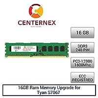 16GB RAMメモリfor Tyan s7067( s7067wgm2nr1tb ) ( ddr312800Reg )マザーボードメモリアップグレードby US Seller