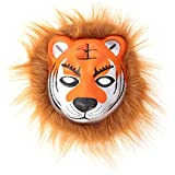BESTOYARD ノベルティ動物マスクハロウィーン仮装コスプレヘッドマスクコスチュームパーティー小道具(タイガー)
