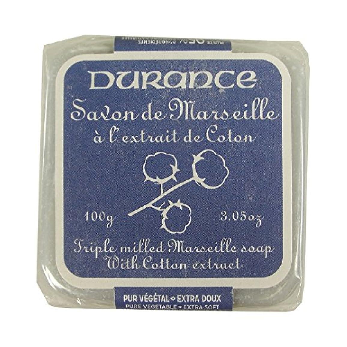 DURANCE(デュランス) マルセイユソープ 100g 「コットン」 3287570405481