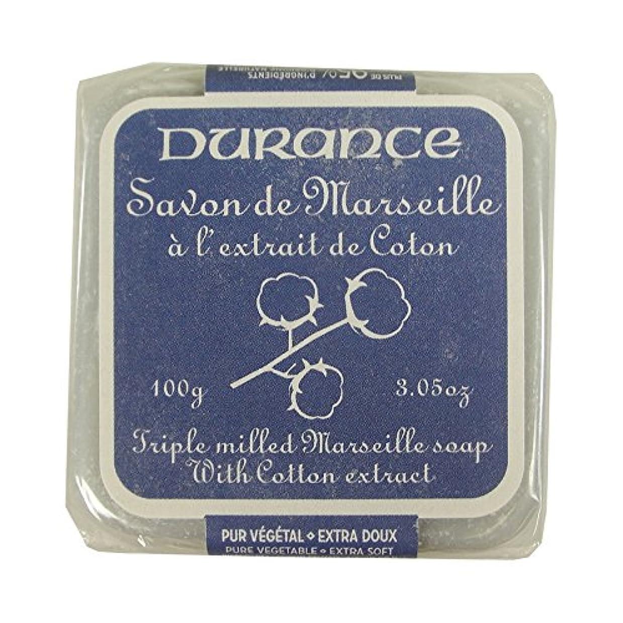 試用積分倍率DURANCE(デュランス) マルセイユソープ 100g 「コットン」 3287570405481