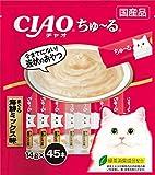 チャオ (CIAO) CIAOちゅーる まぐろ 海鮮ミックス味 14g×45本入