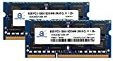 Adamanta 16 GB ( 2 x 8gb )ノートPCメモリアップグレードfor Asus n550jx ddr3l 1600 MHz pc3l - 12800 SODIMM 2rx8 cl11 1.35 Vノー..