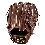 ZETT(ゼット) 野球 硬式 ピッチャー グラブ(グローブ) プロステイタス (右投げ用) BPROG31 チョコブラウン