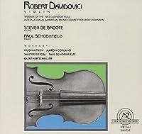Robert Davidovici, Violin