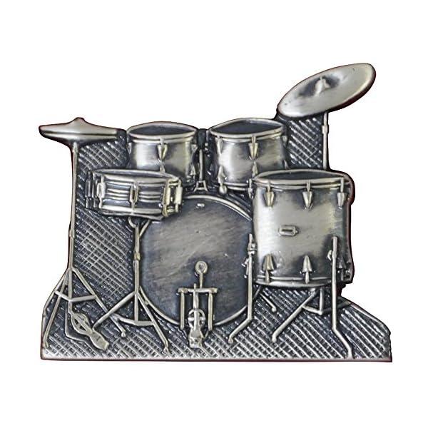 ナカノ スタンダードブローチ ドラムセット シル...の商品画像